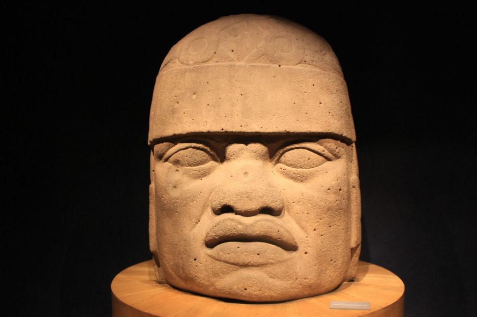 Olmécká hlava