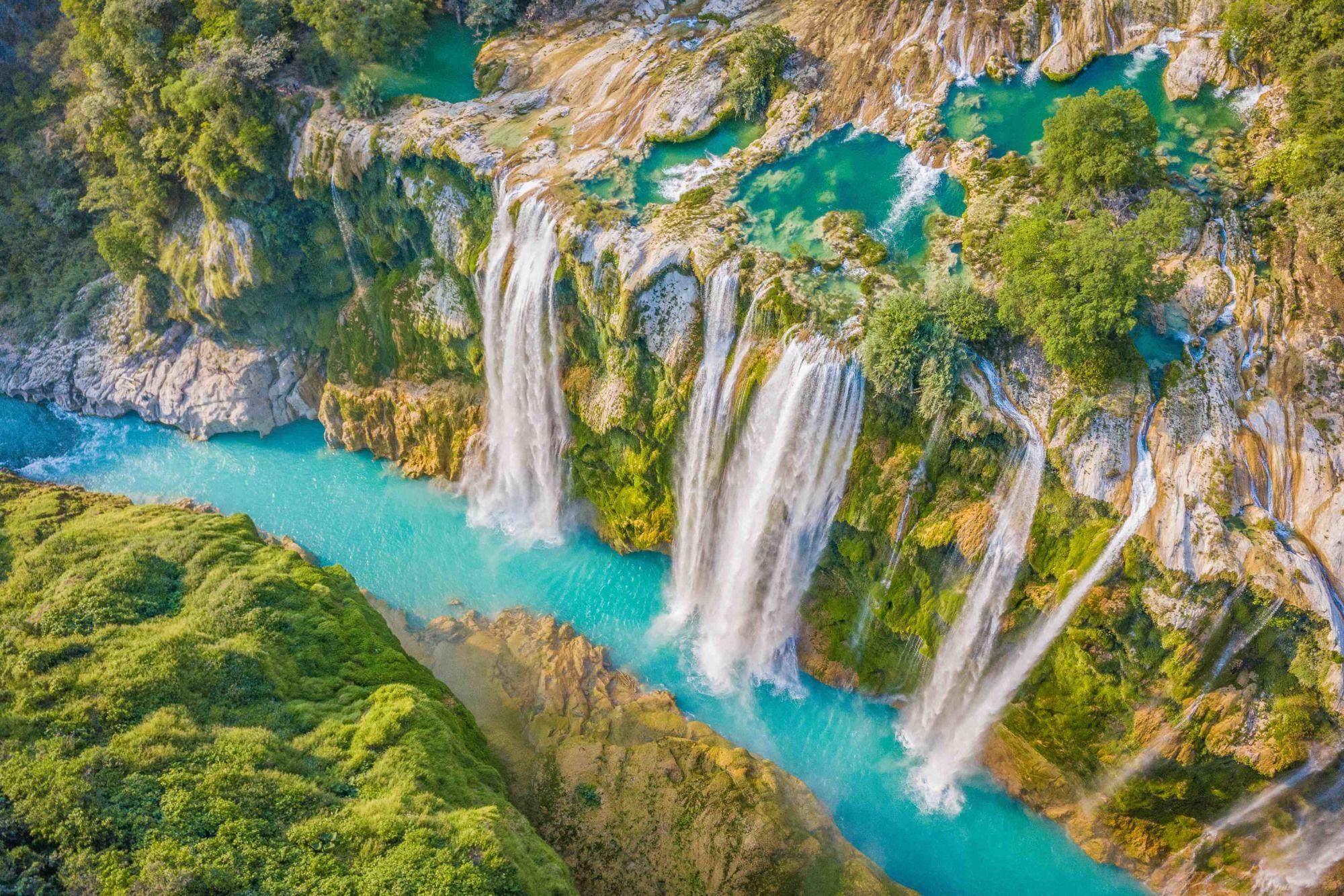 Vodopád Tamul zptačí perspektivy