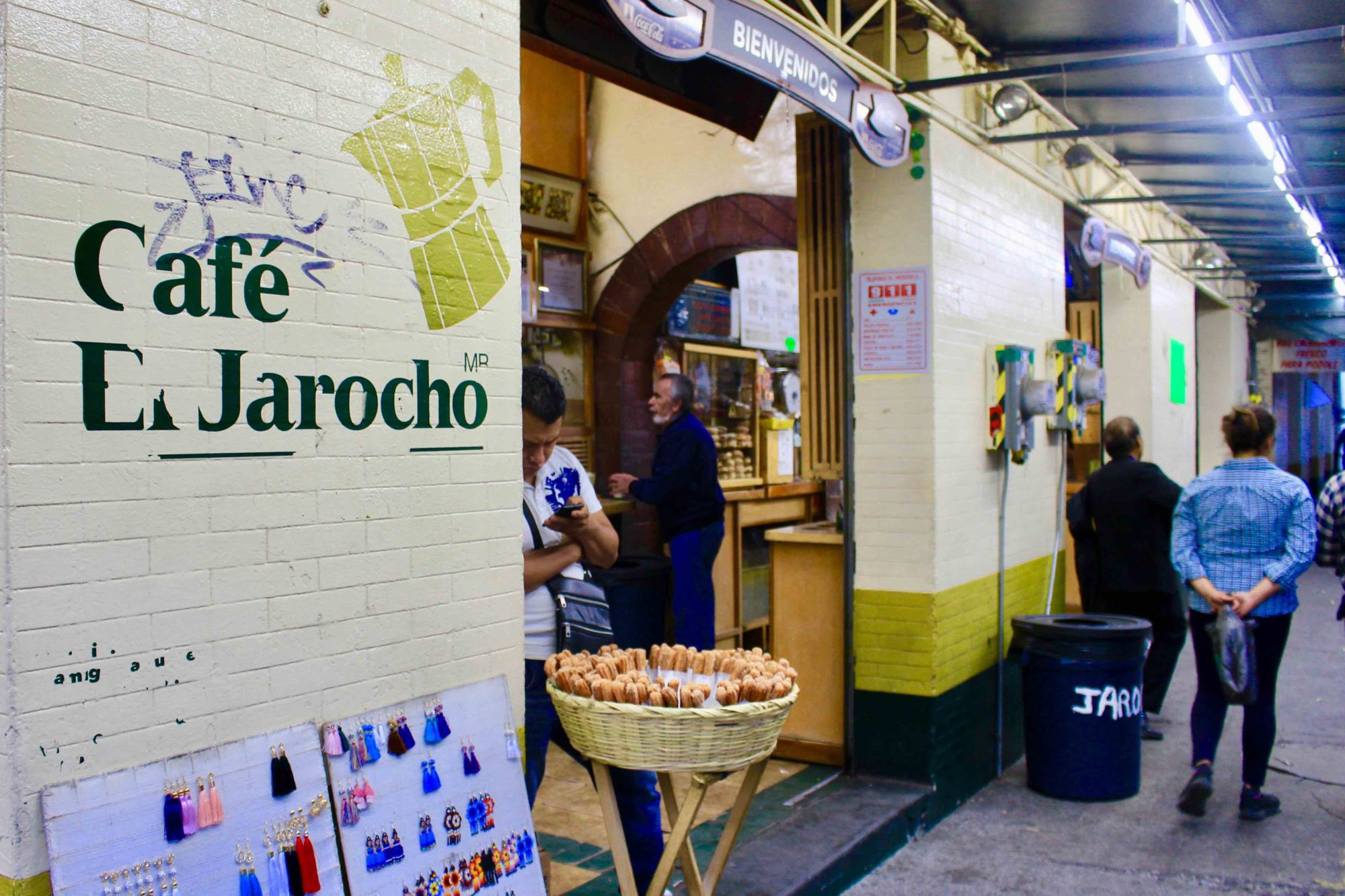 Café El Jarrocho je především tradice